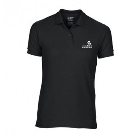 Ladies Polo Black